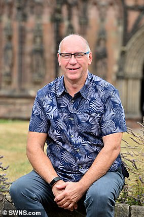 Engineer Michael Taylor, 60, received stem cell therapy to treat a life-limiting heart condition