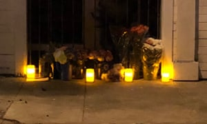A memorial outside of the home of Brian Egg in San Francisco. Neighbors have long feared the worst for Egg, who they haven't seen since June.