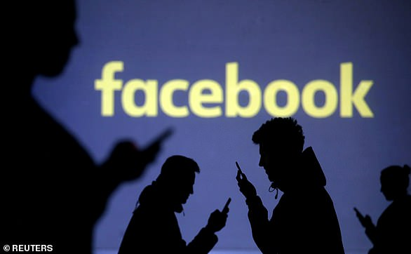 Facebook (file image) made headlines in March 2018 after the data of 87 million users was improperly accessed by Cambridge Analytica, a political consultancy