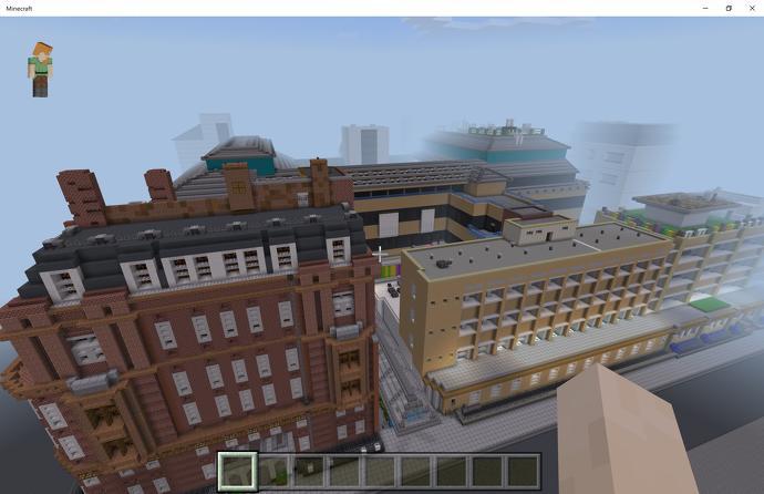 Remaking a children's hospital in Minecraft - NEWSCABAL