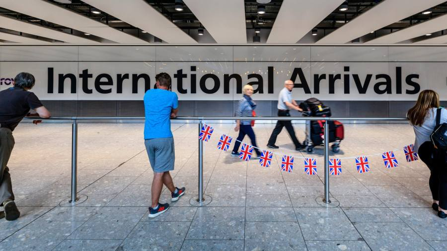 How do expat's investments square with UK immigration rules