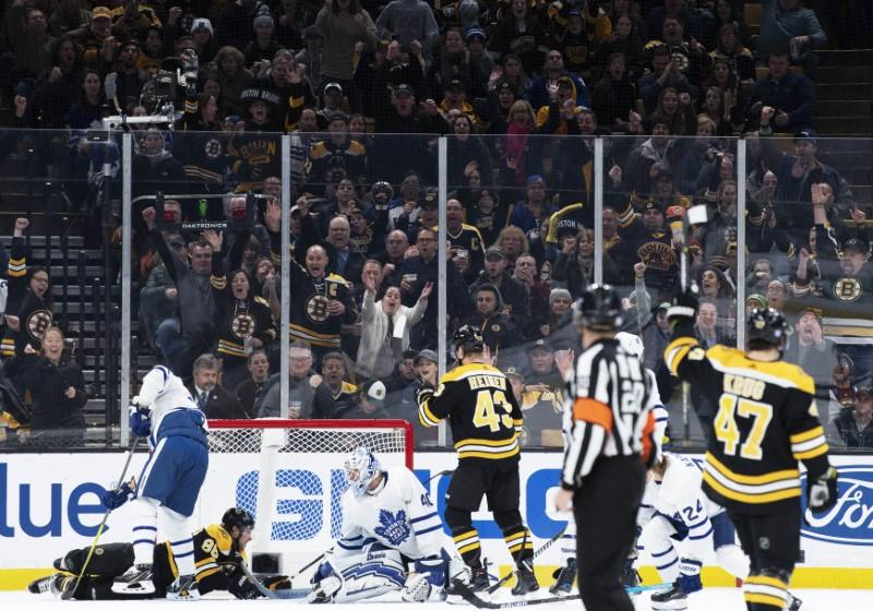 NHL roundup  Pastrnak s hat trick carries Bruins over Leafs - Newscabal 8dd5b7172
