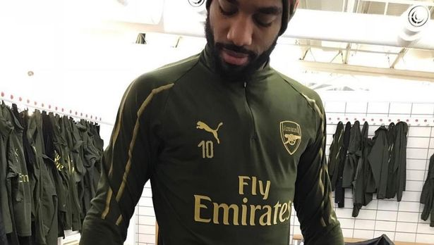 9957d24ab Mesut Ozil won t like what Alexandre Lacazette did in Arsenal changing room  - Newscabal