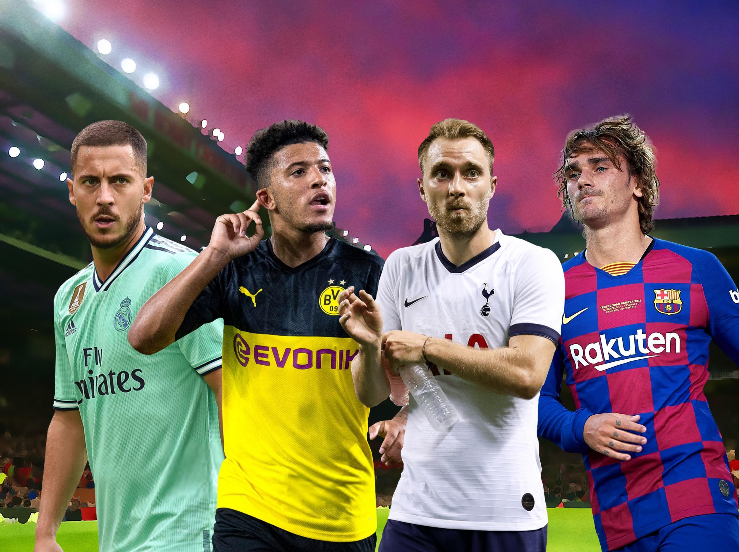 Top Five Latest Transfer News 2019 - Circus