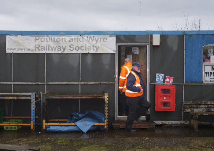 Poulton and Wyre Railway Society credit Harry Mitchell