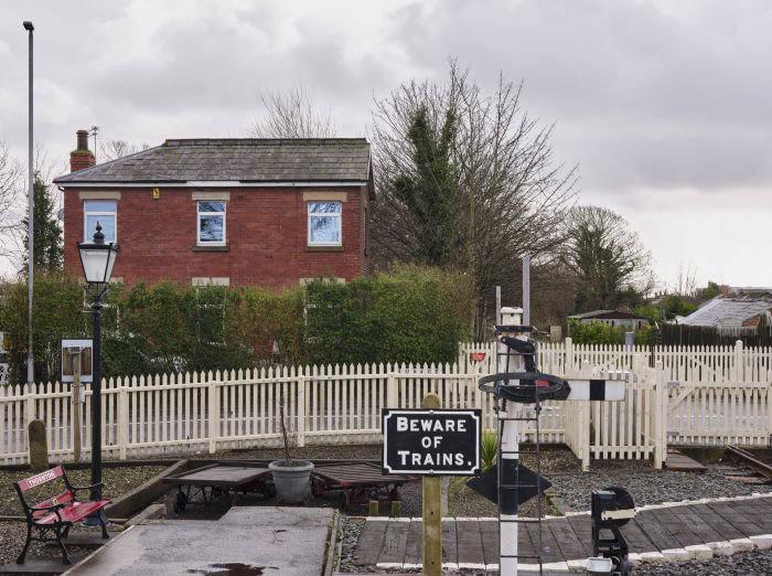 Thornton-Cleveleys station. credit Harry Mitchell